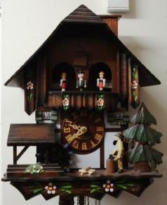 german modern automaton cuckoo clock