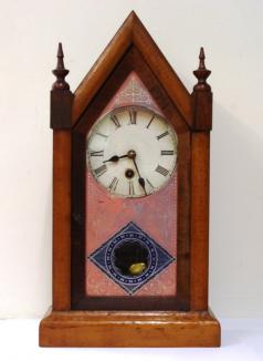 american 30 hour timepiece mantel clock by the ansonia clock company