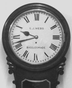 wall station railway time school sector clock fusee